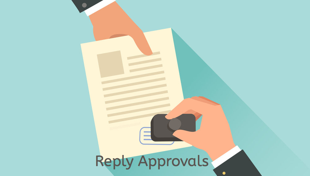 KBS Reply Approvals Extension